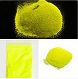 Люминофор светящийся порошок люминесцент желтый в темноте и на свету ТМ Просто и Легко, 10 г (lumin_jolt_10), фото 2