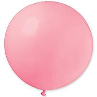 """Гелієва куля 31"""" 70-80см пастель яскраво-рожевий"""