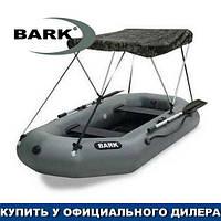 Тент для надувной гребной лодки Барк Б-220. Ходовой тент на лодку Bark B-220;