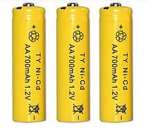 Аккумулятор AA 1.2V 700 mAh Ni-Cd