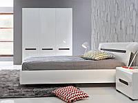 Спальня Gerbor холдинг Ацтека Спальный гарнитур Нимфеа альба/белый глянец