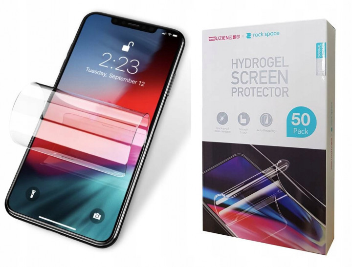Защитная гидрогелевая пленка Rock Space для Motorola Droid Maxx