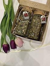 Подарунковий бокс «Чай Карпат» (вітамінний, квітковий)
