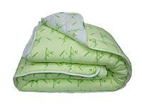 Теплое зимнее антиалергенное бамбуковое одеяло ЕВРО размер 200*220