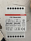 Понижающий трансформатор 230/12х2 40Вт TDTR040 на DIN-рейку, фото 2