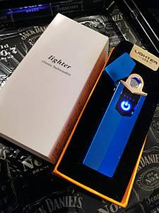 Електронна USB запальничка UTM Синя
