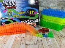 MAGIC TRACKS 360 деталей дитячий світиться конструктор