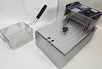Електрична фритюрниця професійна Rainberg RB-7152 8 л (3200W), фото 1