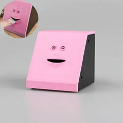 Скарбничка-особа Face Piggy Bank Рожева