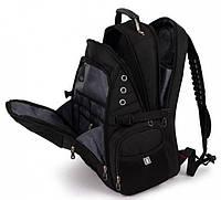 Городской рюкзак Swissgear 8810 PLUS  объемом 55 л Черный