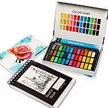Альбом для скетчинга і малювання А5 250 г\м2, 50 аркушів, альбом на спіралі з Видеообзором !, фото 8