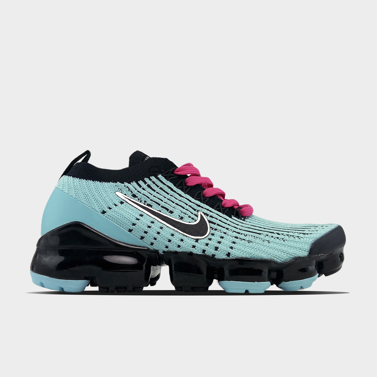 Nk, крос, обувь, взуття, sneakers, шузы, Air VaporMax Flyknit 3.0 South Beach (Бирюзовый)