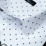 Сорочка чоловіча, приталена (Slim Fit), з довгим рукавом Fabrik Style 5368 100% бавовна 4XL(Р), фото 2