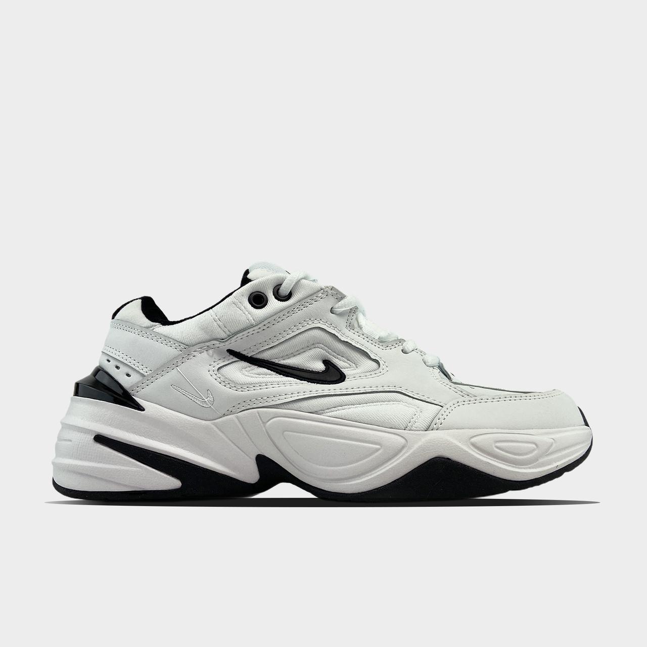Nk, крос, обувь, взуття, sneakers, шузы, M2K Tekno White Black (Белый)