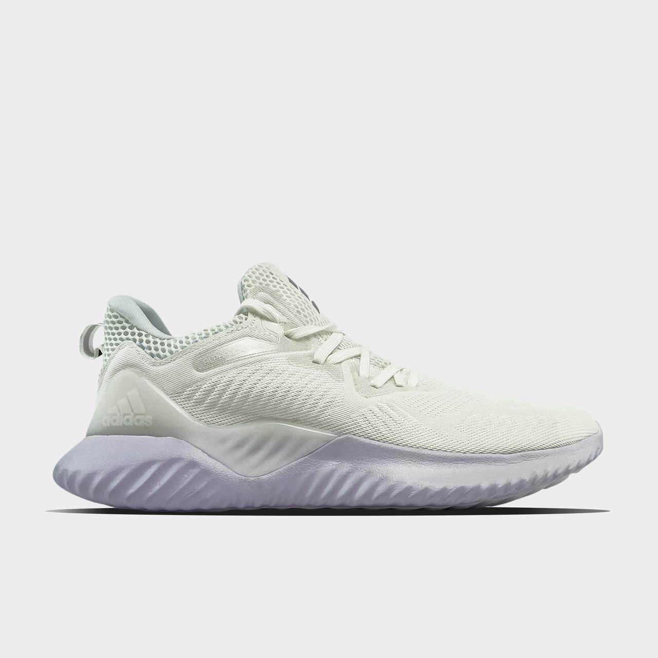 Ad!id@s, крос, обувь, взуття, sneakers, шузы, Alpha Bounce Instinct White (Белый)