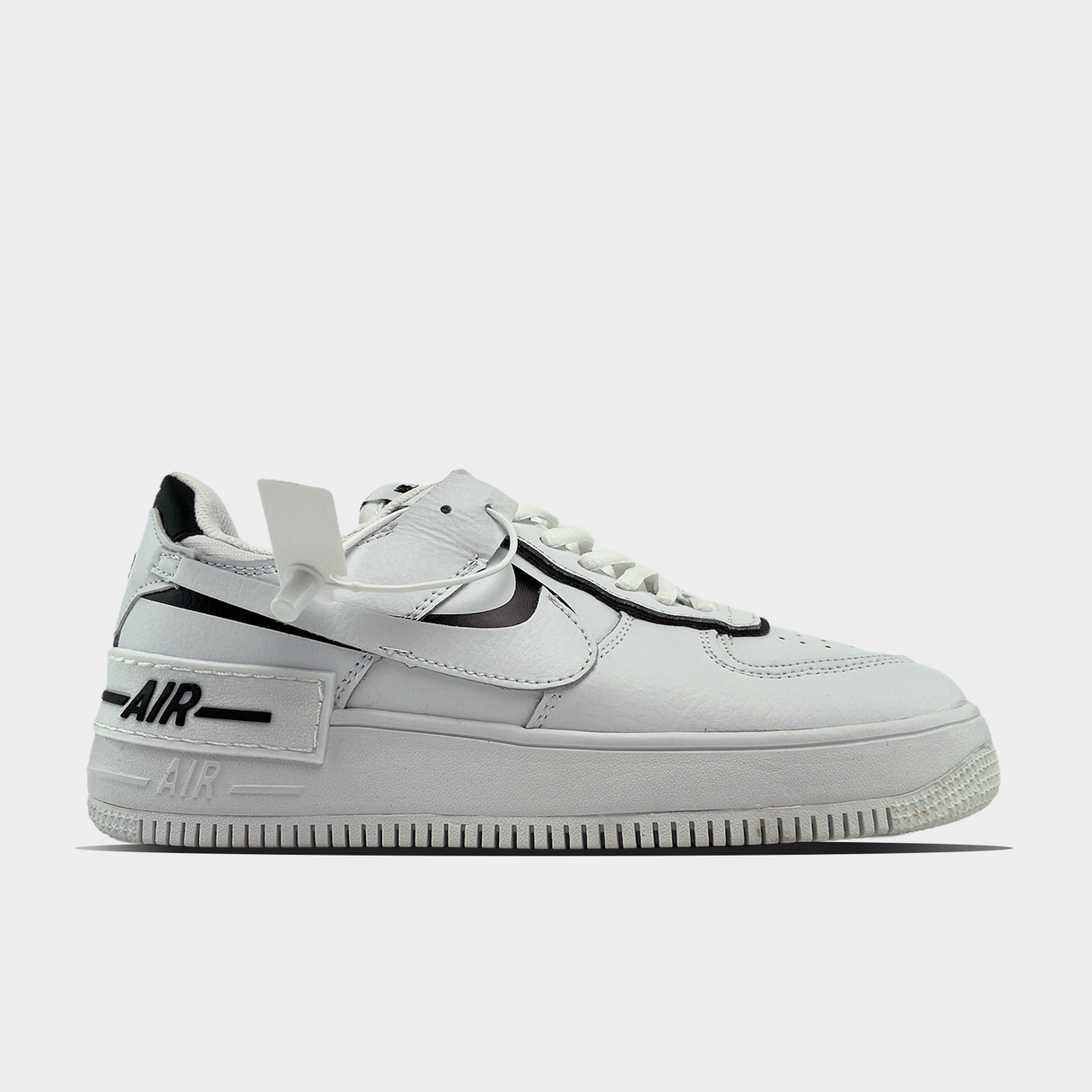 Nike Air Force Shadow White Black (Білий)