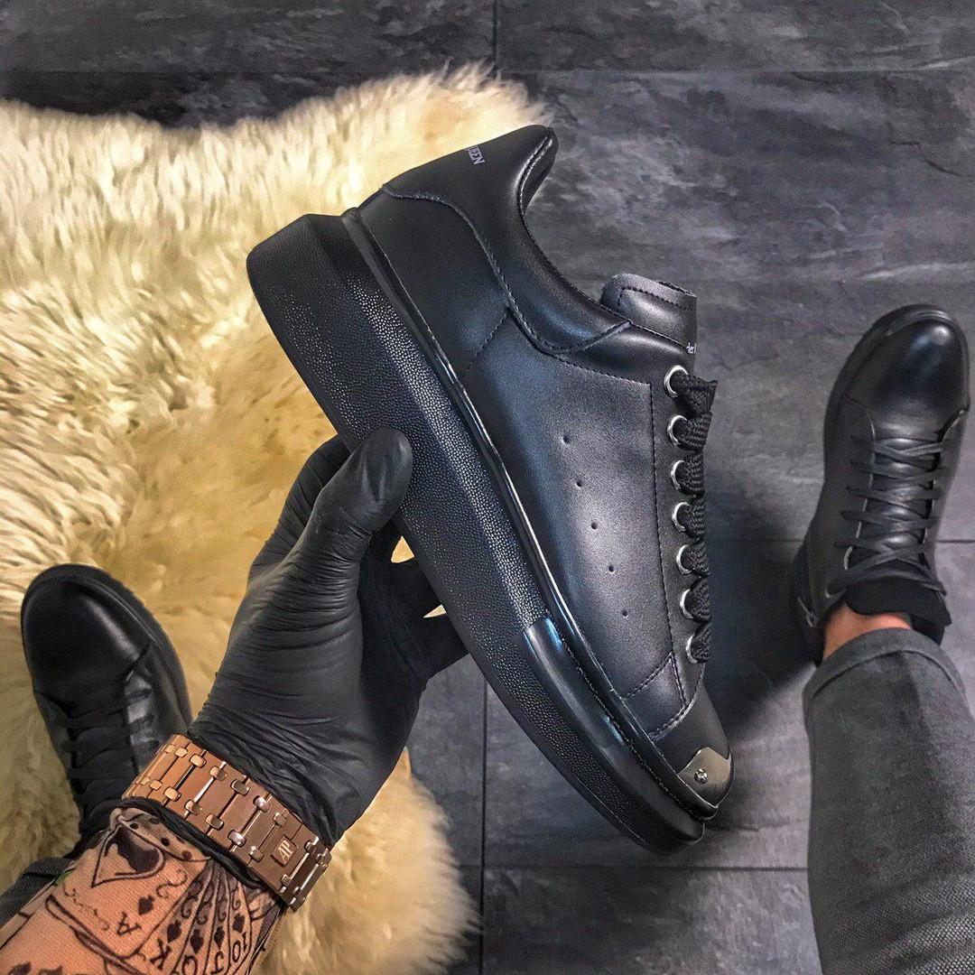 "Alex""nder Mc""ueen , крос, обувь, взуття, sneakers, шузы, Black Metal"