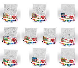 Розпис по полотну Danko Toys Canvas Painting 31х31см, PX-05-01,02,03,04,05 ... 10