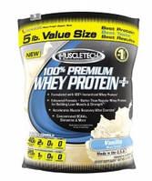 Протеин Сывороточный MuscleTech 100% premium whey protein plus 2267 г  клубника