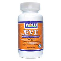 Витамины для Женщин NOW Eve 90 капс