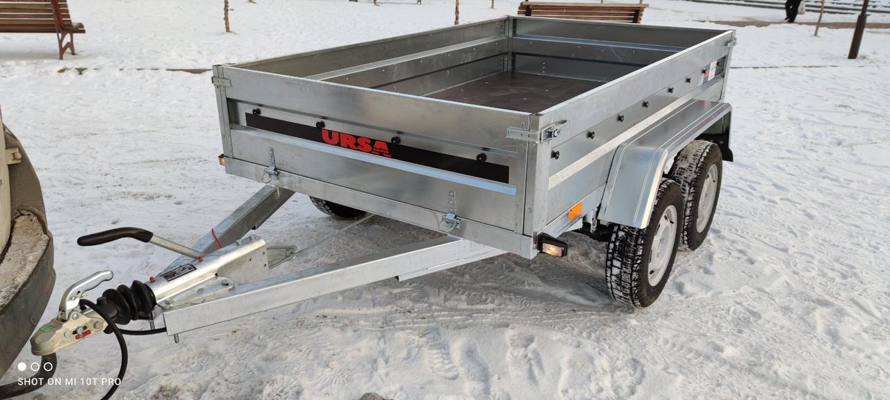 Причіп універсал 2500х1500х400 з гальмівною системою на 2700кг