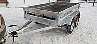 Причіп універсал 2500х1500х400 з гальмівною системою на 2700кг, фото 1