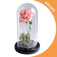✨ Роза в колбе стабилизированная с LED подсветкой отличный подарок на любой праздник ✨