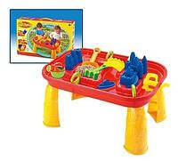 Игрушка для песочницы Столик для песка и воды Столик-песочница с аксессурами Игрушки для игр с песком