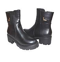 Женские демисизоные, ботинки на платформе, женские демисезонные, на удобная и стильная модель
