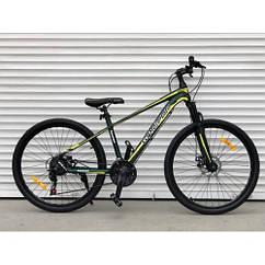 Спортивный велосипед TopRider колеса 29 дюймов 901 Shimano / алюминиевая рама / цвет зеленый