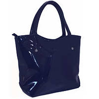 Сумка жіноча Lucherino 303 Синій лак, фото 1