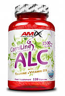 Карнитин, L-карнитин, L-Carnitine Amix nutrition Alc - with taurine vitamine b6 cps 120 сapsu