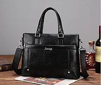 Мужская стильная офисная деловая брендовая сумка портфель для документов планшета