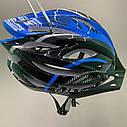 Шолом з підсвічуванням для їзди на велосипеді, фото 7