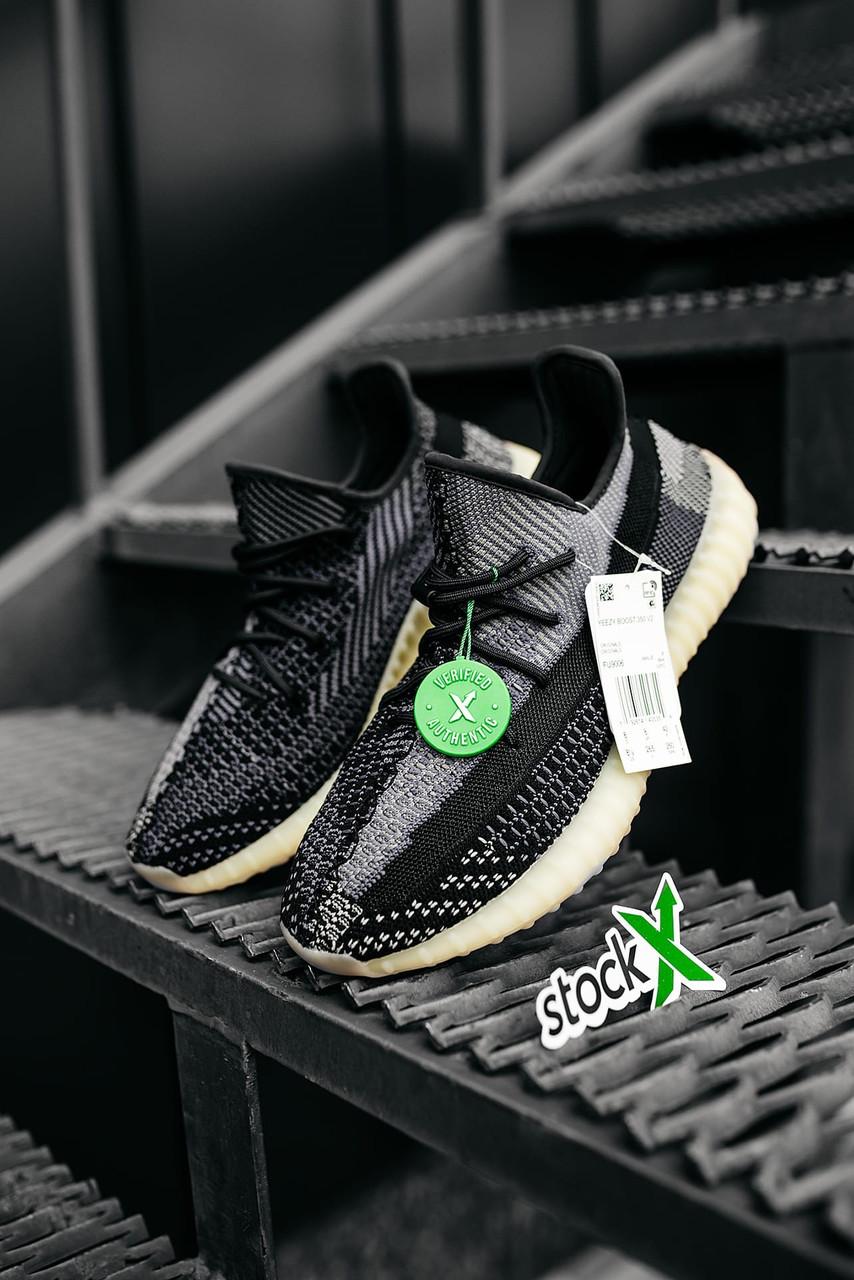 Жіночі чорні Кросівки Adidas Yeezy Boost 350
