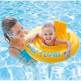 Детский надувной круг Intex плотик ходунки от 6-12 месяцев арт. 56585, фото 8