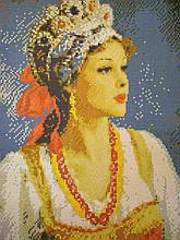 Вышивка бисером, Канва схемы картины Аленка