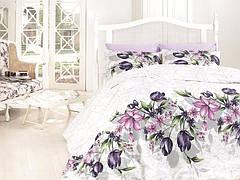 """Комплект постельного белья First Choice Ranforce """"Riella Lila"""" R 66"""