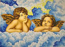 Вышивка бисером, Канва схемы картины Ангелы Ангелочки