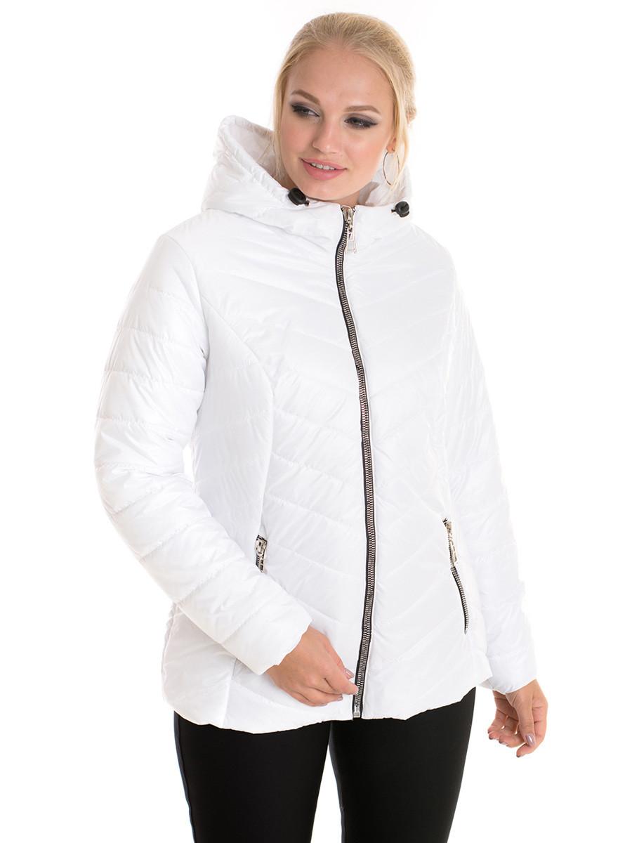 Демисезонная женская куртка Irvik BS22016А белая