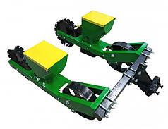 Сеялка овощная для мотоблока, мототрактора двухрядная Корунд