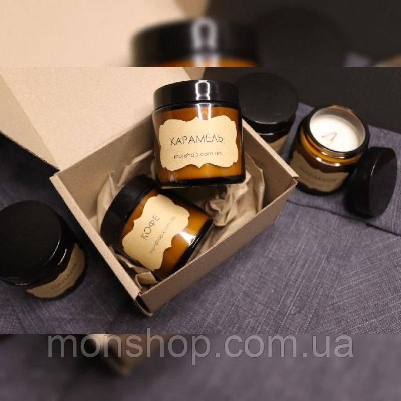 Свічка з соєвого воску АРОМАТ на вибір