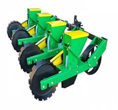 Сеялка овощная для минитрактора, мототрактора четырех рядная Корунд