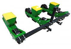 Сеялка для минитрактора, мототрактора овощная трех рядная Корунд