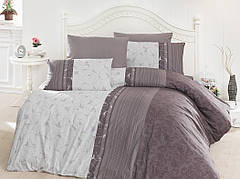 """Комплект постельного белья First Choice Ranforce """"Peitra Leylak"""" R 76"""