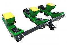 Сеялка для мототрактора, минитрактора овощная трех рядная Корунд
