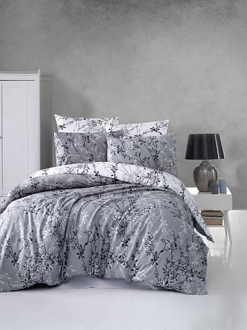"""Комплект постельного белья First Choice Ranforce """"Zena Gri"""" R 86, фото 2"""