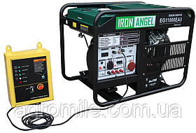 Генератор Iron Angel EG 11000 EA3 + блок автоматики