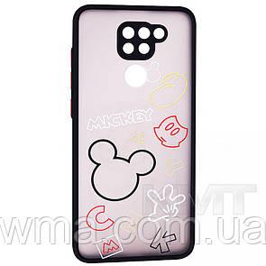 Stickers Series TPU Case — Xiaomi Redmi Note 9 — Black