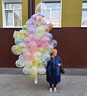 """Композиция с шаров """"Радуга"""" набор 103 шаров"""
